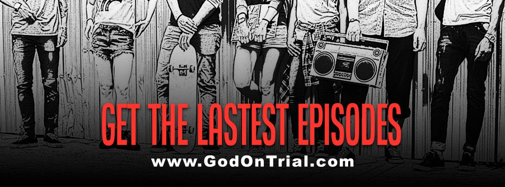God On Trial Banner